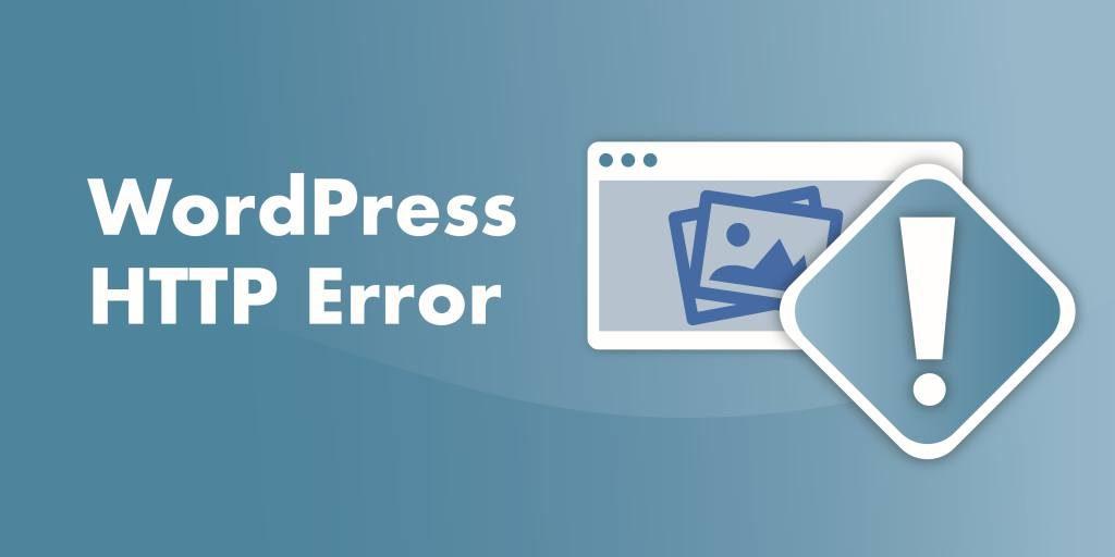 http error uploading wordpress