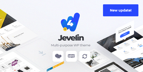 jevelin - WordPress theme