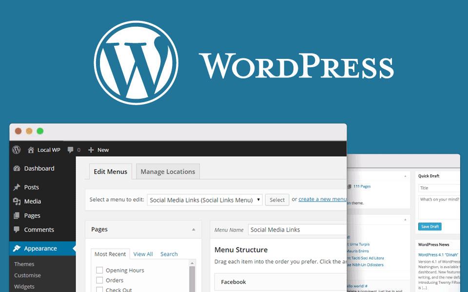 wordpress - website navigation