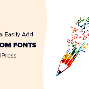 How to change the font on your WordPress website?