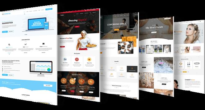 WordPress theme 2020