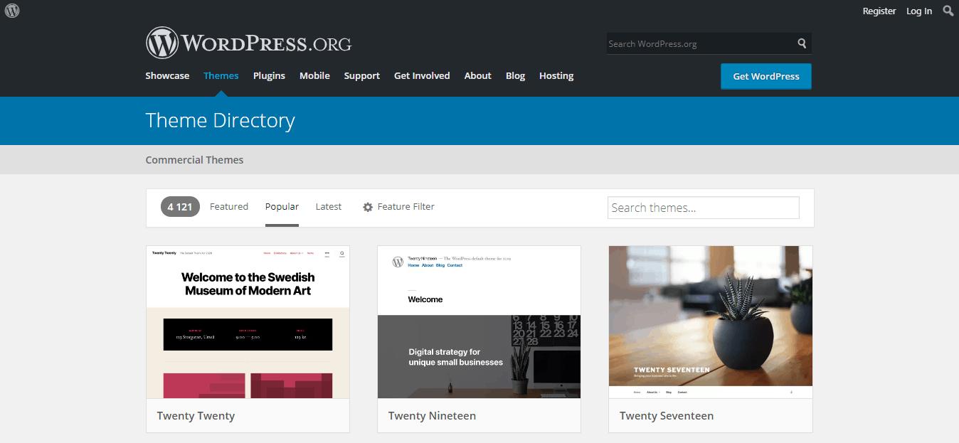 best free wordpress templates